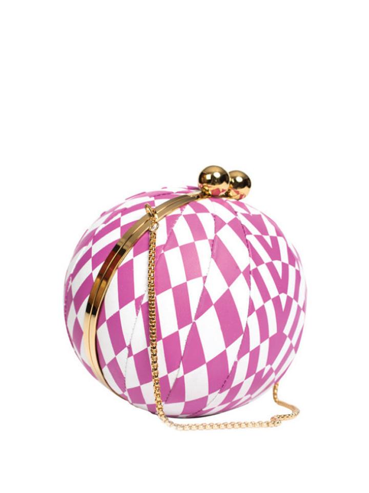 Harlequin -Pink&White
