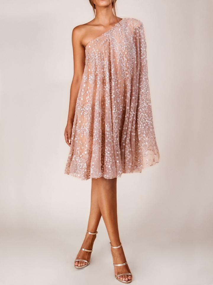 Carrie Dress -Nude