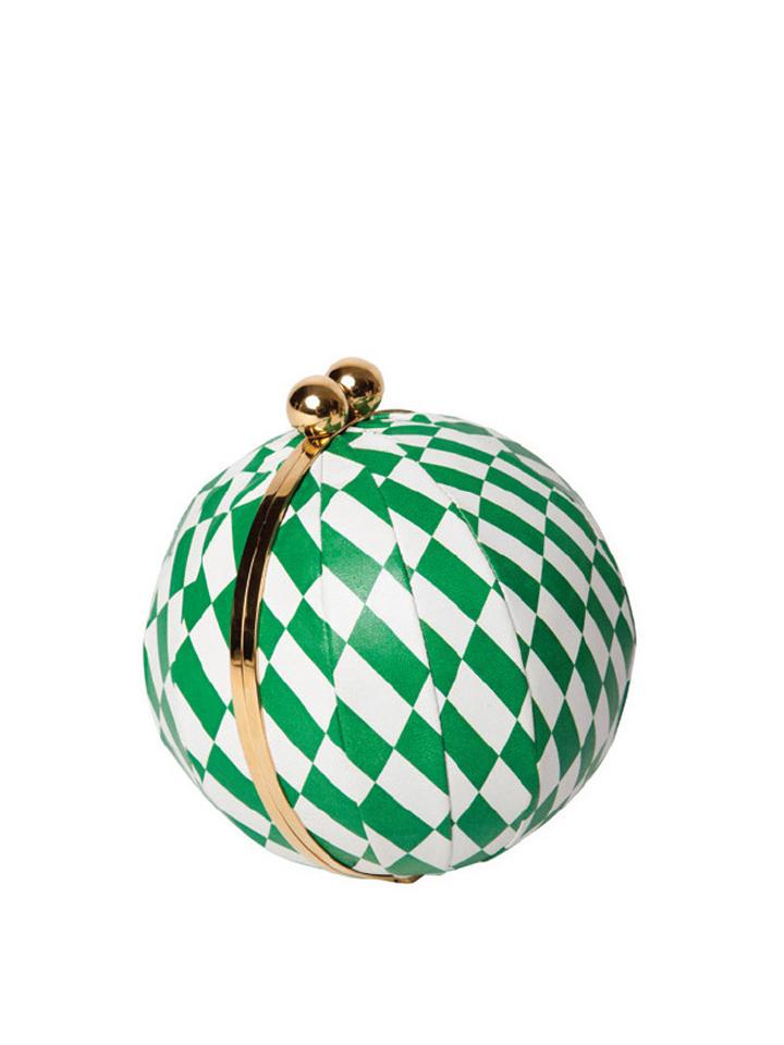 Harlequin -Green&White