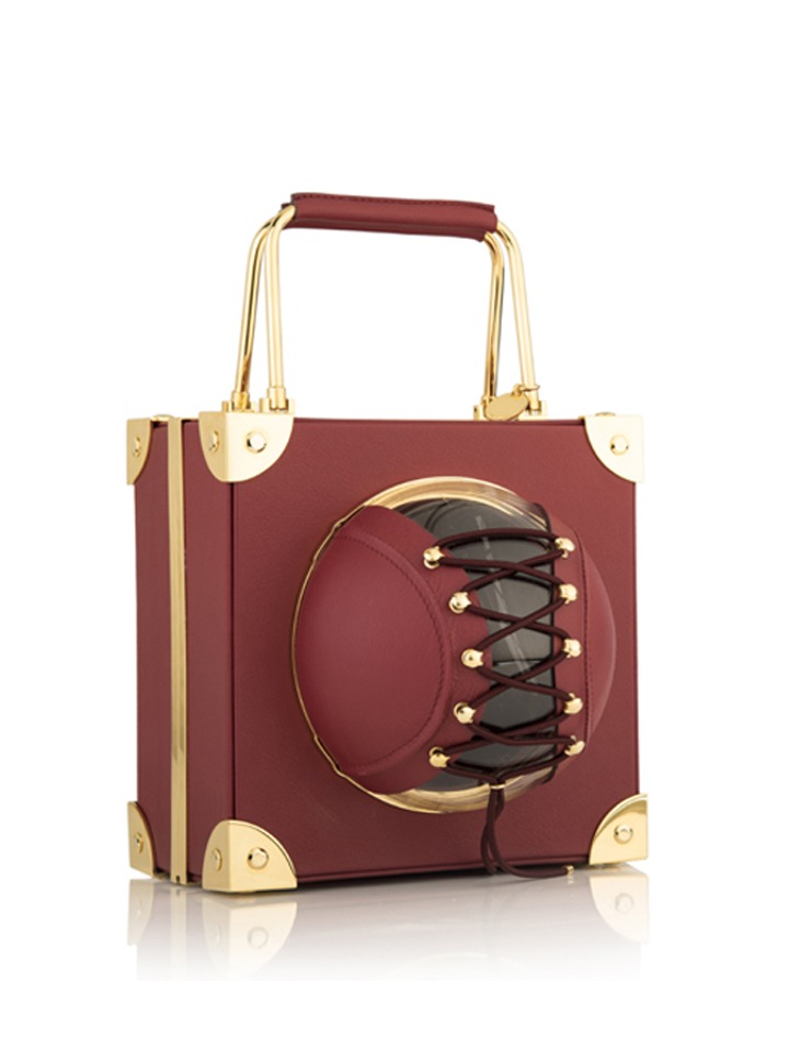 Mini Trunk -Burgundy