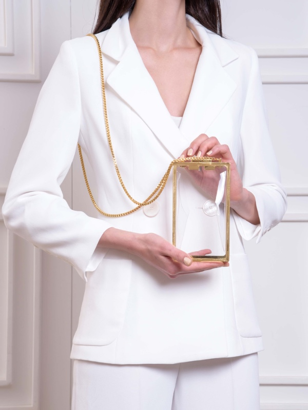 Capsule Transparent-with chain